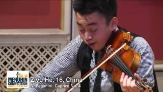 Ziyu He, 16, China
