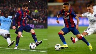 Lionel Messi & Neymar Jr | PannaNutmeg Masters | 2015 | HD