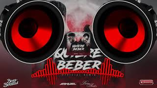 Ella Quiere Beber     - Anuel Aa Ft. Romeo Santos   Bass Boosted