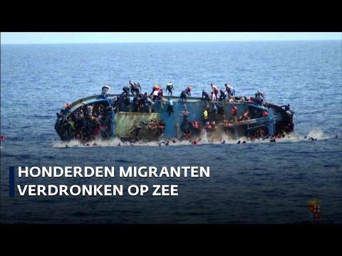 Migranten onderweg naar Italië verdronken