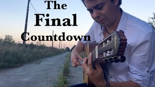 """EUROPE """"The Final Countdown"""" Acoustic - Fingerstyle Guitar by Thomas Zwijsen"""