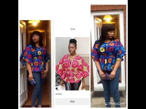 How To Make A Simple Blouse With Ankara Fabric