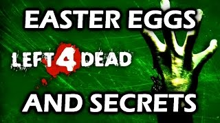 Left 4 Dead All Easter Eggs And Secrets HD