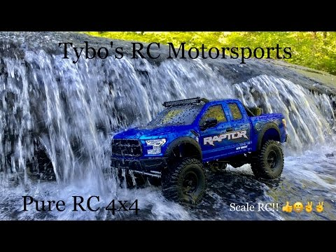 ***Ford Raptor Axial SCX-10 Customized***Tybo's RC Motorsports** Pure RC 4x4
