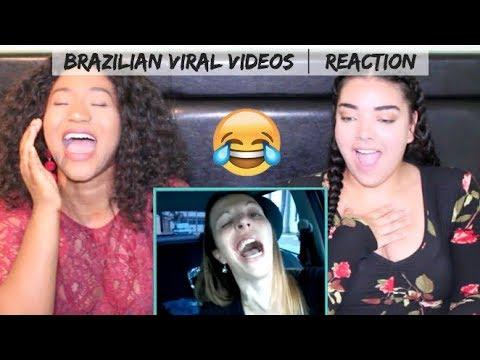 *HILARIOUS* Canadians REACTING to Brazilian Viral Videos!