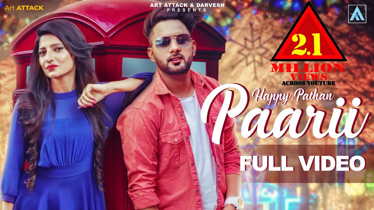 PAARII ( Official Song )| Happy Pathan