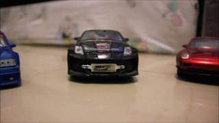 First Time Making Video of  350Z , 1999 C45 AMG, E36, and 911 DIECASTS
