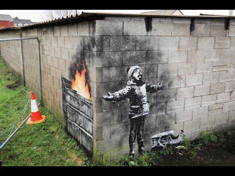 Banksy's Christmas Mural