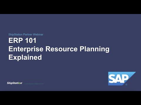 ERP 101: Enterprise Resource Planning Explained (Webinar ...