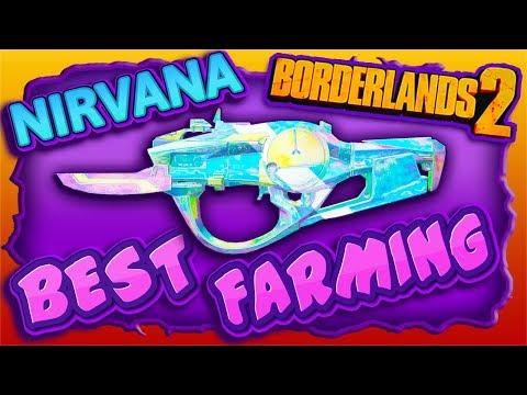 "BEST FARMING Spot To get Effervescent SMG ""Nirvana"" (Borderlands 2 New DLC)"