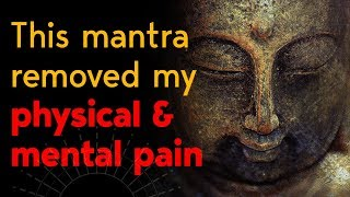 Buddhist Mantra For Healing All Sufferings, Pain And Depression  - Tayata Om Mantra
