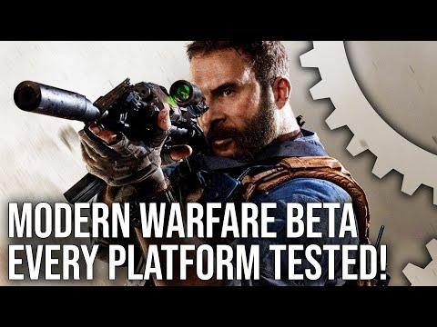 [4K] Call of Duty Modern Warfare Beta: PS4/Pro/Xbox One/X/PC Cross-Play Tested!
