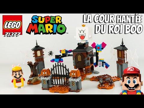 Vidéo LEGO Super Mario 71377 : Le jardin hanté du Roi Boo - Ensemble d'extension