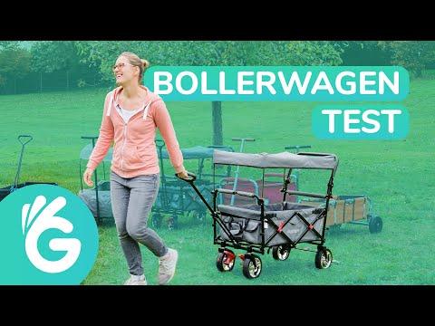 Bollerwagen Test – Fuxtec faltbarer Bollerwagen im Vergleich
