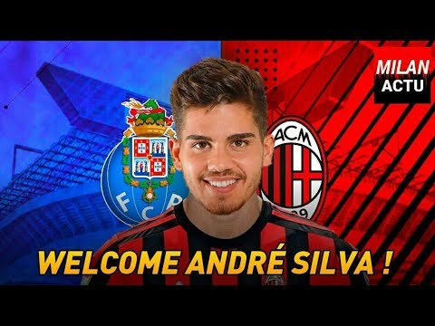 ANDRÉ SILVA | The Heir | Welcome to AC Milan | Goals & Skills | by Milan Actu [HD]