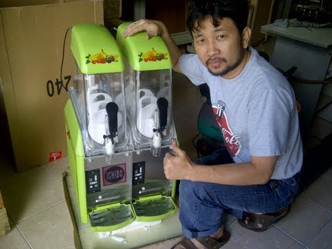 Video Jual Mesin Es Salju  / Ice Slurpe Machine