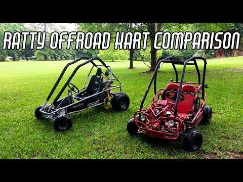 Thrashing Cheap Offroad Go Karts
