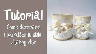 Tutorial Pittura Shabby Chic : Art hobby ] video vaso stile shabby hd Самые лучшие видео