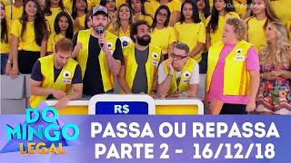 O Domingo Legal já faz parte da vida dos brasileiros há mais de vinte anos. A atração leva até a casa do telespectador um programa especial, com música, reportagens, celebridades, notícias, quadros que são campeões de audiência e agora ele está no Youtube. Inscreva-se e não perca nenhum programa.