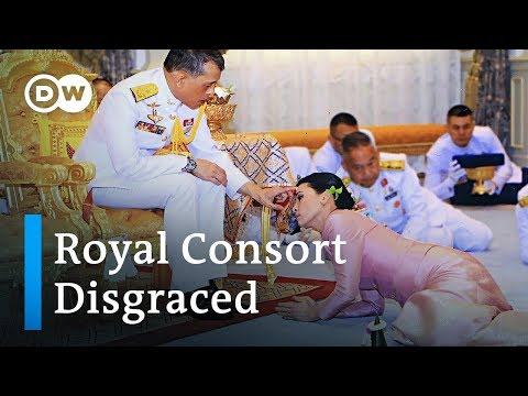Thailand's King dumps junior wife in royal family feud   DW News