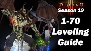 Diablo 3 Season 19 Leveling Refresher - A Guide For Leveling 1 to 70 FAST