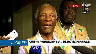 AU Observer Mission briefs media on Kenya election re-run