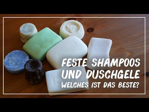 Feste Shampoos - Welches ist das BESTE? 🏆