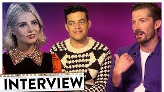 BOHEMIAN RHAPSODY Interview | Rami Malek & der gesamte Cast hören Blümchen