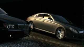 preview picture of video 'GTA 4 BMW E66 vs Mercedes CLS 1080p HD4870 Q6600  [HD] [ Car mods + RealizmIV + VisualIV + ENB  ]'