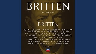 Britten: Diversions for piano (left hand) & orchestra, Op.21 - Variation III - March