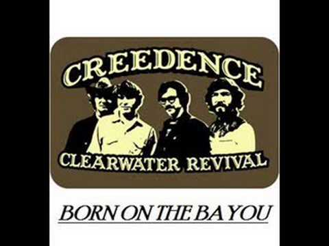 Born on the Bayou performed by Creedence Clearwater Revival