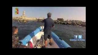 preview picture of video 'Pesca subacquea: 5 persone denunciate a Fiumicino'