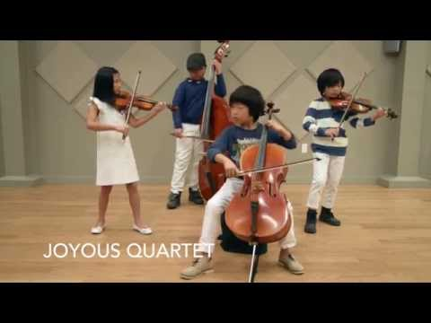 Youngest String Quartet Ever - Every Breath You Take