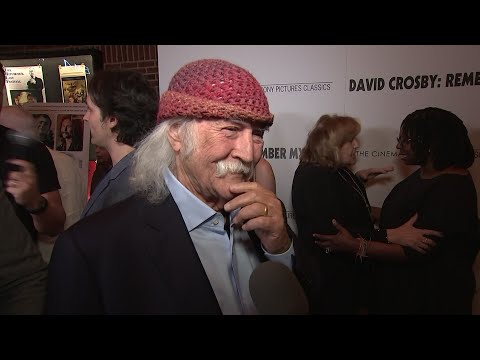"""Legendary musician David Crosby says his new documentary """"Remember My Name"""" is """"a little embarrassing"""" due to its honesty. (July 17)"""