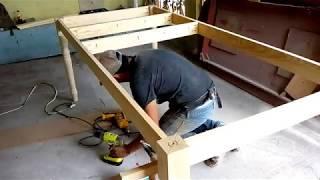 Como Hacer Una Mesa De Madera Facil Y Rápido (sistema Pocket Hole)