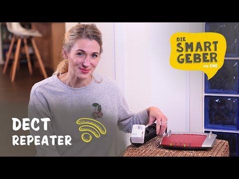 Telefonreichweite mit FRITZ!DECT-Repeater erweitern I kurz & smart