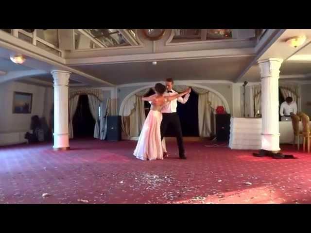 "Wedding dance. Dance Sport Center ""IMPULS"""