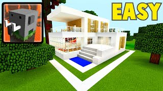How To Make BIG MODERN HOUSE In Craftsman:building Craft