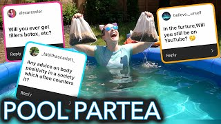 Swimming in a Pool of Tea (Q & Tea)