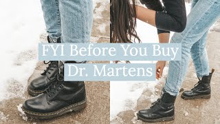 FYI Before You Buy Dr. Marten