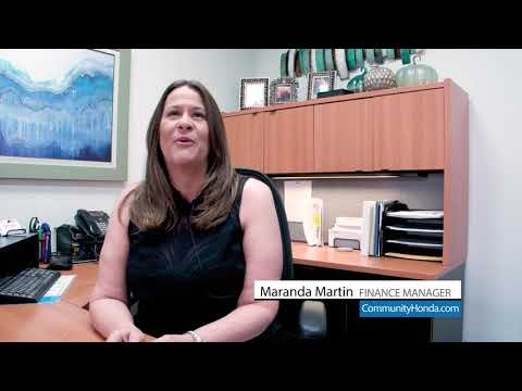Finance Manager Maranda Martin