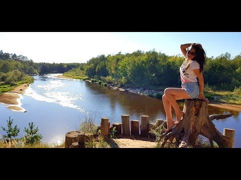 Одно из самых КРАСИВЫХ МЕСТ Рязанской области! Окский биосферный заповедник, п. Брыкин Бор