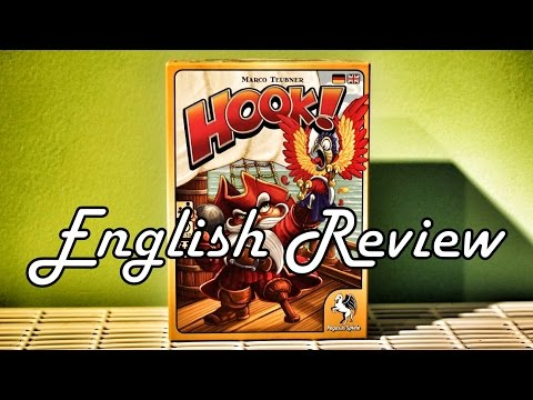 Hunter & Cron: Boardgame Review - Hook (English version)