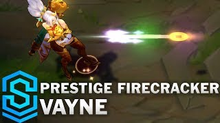 Prestige Firecracker Vayne Skin Spotlight - League of Legends