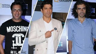 Farhan Akhtar & Imtiaz Ali At National Geographic's 'Mission Blue' Initiative Launch