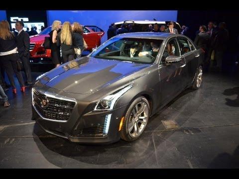 2014 Cadillac CTS - 2013 New York Auto Show