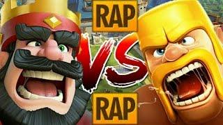 Clash Royale VS. Clash Of Clans | RAP