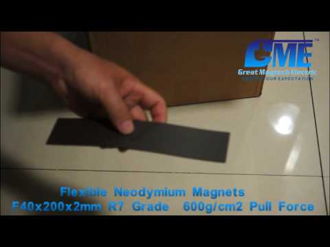 Super Flexible Neodymium Rare Earth Magnet Sheet
