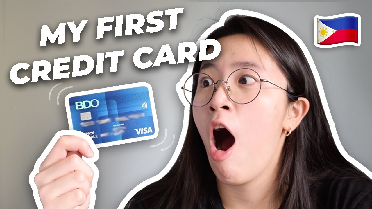 How I got a Charge card as a Trainee Philippines|Credit Cards for Beginners|BDO Visa Classic thumbnail