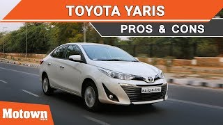 Toyota Yaris CVT | Pros and Cons | Motown India